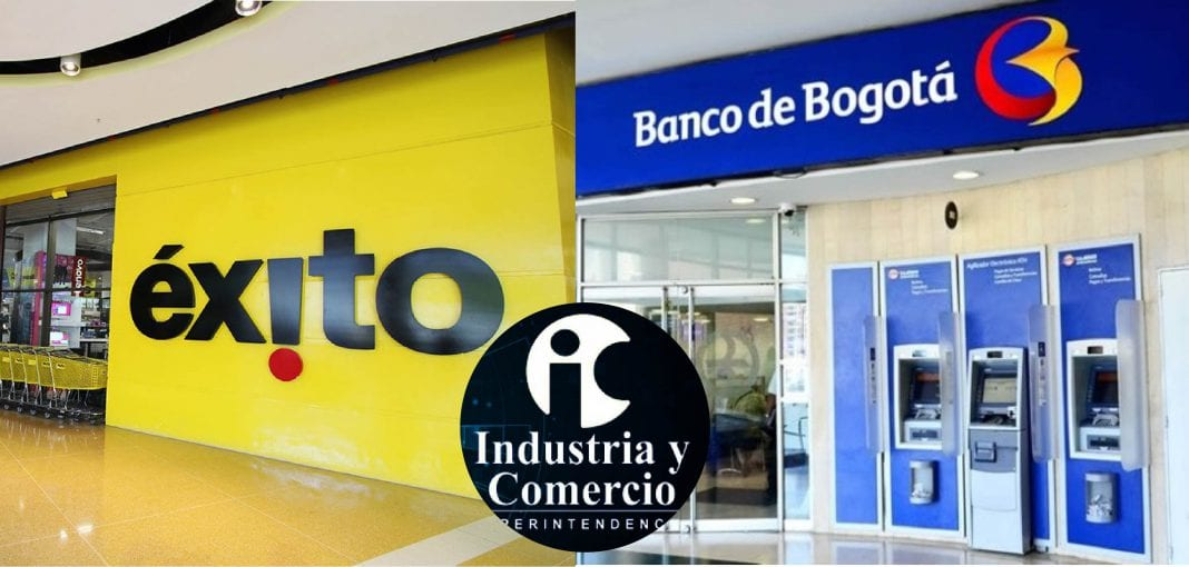 Éxito y Banco de Bogotá
