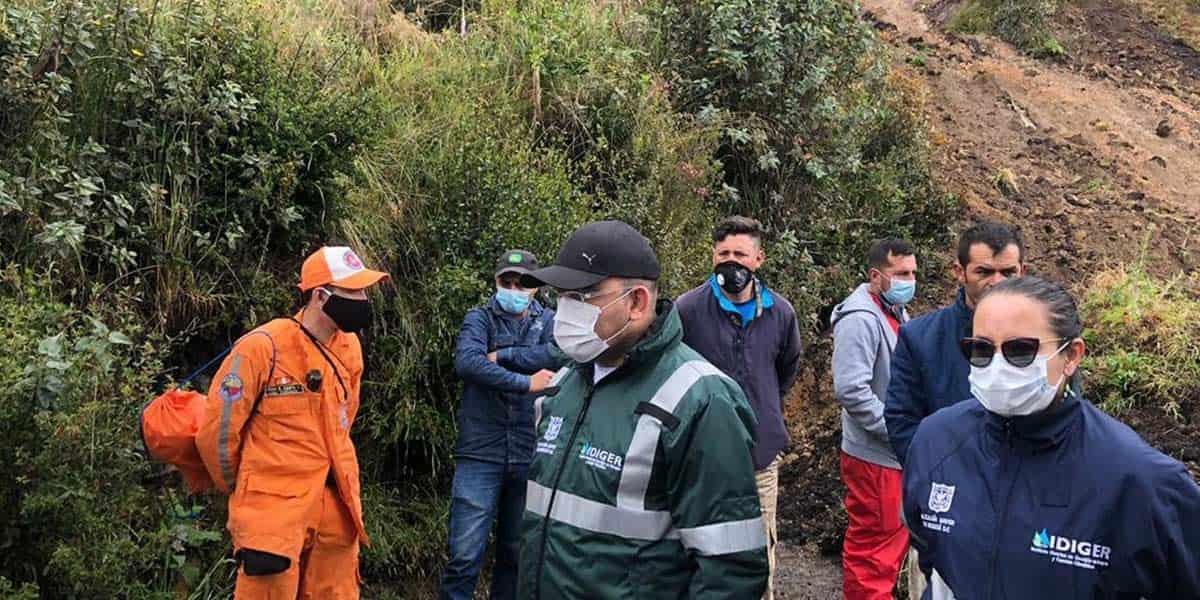 Bogotá Se atendieron 16 emergencias ocasionadas por lluvias