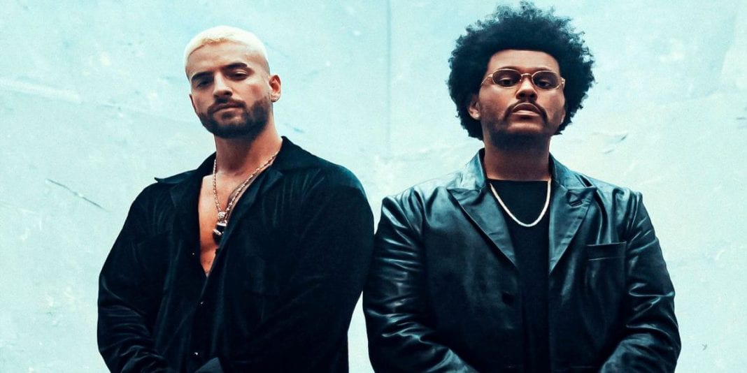 Maluma y The Weeknd se unen para el remix de Hawái