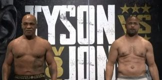 Mike Tyson y Roy Jones Jr
