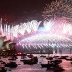 Así recibieron el Nuevo Año en Australia y Nueva Zelanda