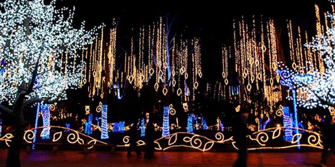 Estos son los puntos con iluminación navideña en Bogotá