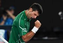 Novak Djokovic Australia