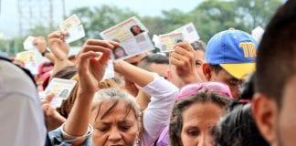 Venezolanos irregulares