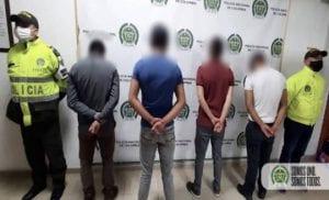 Policía de Bogotá capturó a 4 ladrones, todos menores de edad