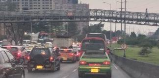 Bogotá trancón