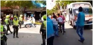 Explosión en Barranquilla