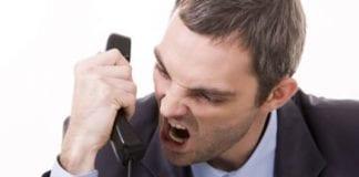 Quejas por teléfono