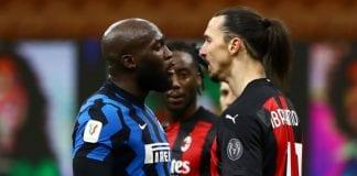 Romelo Lukaku y Zlatan Ibrahimovic