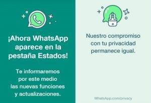 WhatsApp Estados 1 y 2