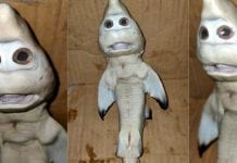 ¿Baby shark Encuentran cría de tiburón con extraña cara