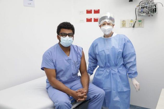 En Zipaquirá comenzó vacunación contra Covid-19 en Cundinamarca