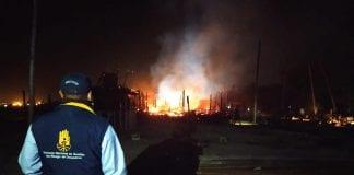 Incendio en Barú