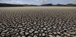 Laguna de Suesca en Cundinamarca esta completamente seca