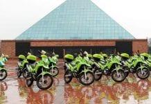 65 nuevas motocicletas para la policía llegan a Soacha y Fusagasugá