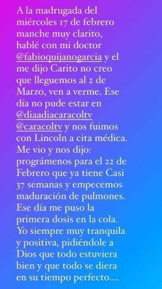 Carolina Cruz confirma el nacimiento de Salvador (2)-min