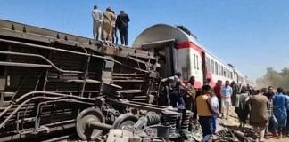 Choque de trenes de Egipto