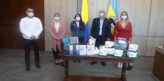 Emiratos Árabes donó 120 kits de terapia respiratoria a Cundinamarca