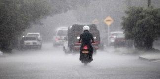 En Alerta se encuentra Cundinamarca por fuertes lluvias