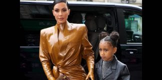 Kim Kardashian presentó la exótica mascota de su hija North West