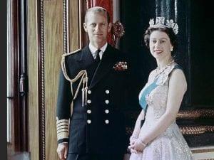 Duque de Edimburgo y Reina Isabel II