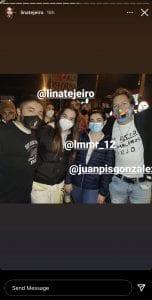 Lina Tejeiro se une a los artistas que marcharon en el Paro Nacional-Momento24
