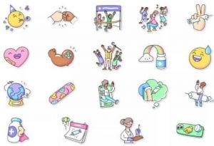 Nuevos stickers de WhatsApp relacionados con la vacuna Covid-19