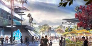 Avengers Campus el nuevo parque tematico de Marvel