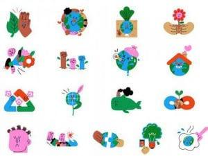 Whatsapp lanza nuevos stickers por el día de la tierra- momento24