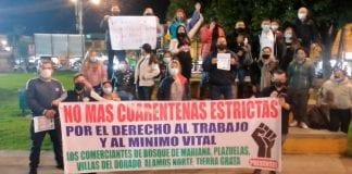 protestas