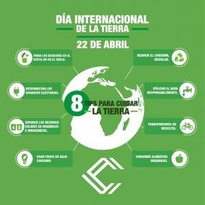 Día Internacional de la Tierra  #movilizateporlatierra- momento24