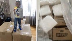Niño compró 2,600 dólares en paletas por equivocación-Momento24