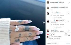 Ariana Grande se casó en secreto con Dalton Gómez-Mo