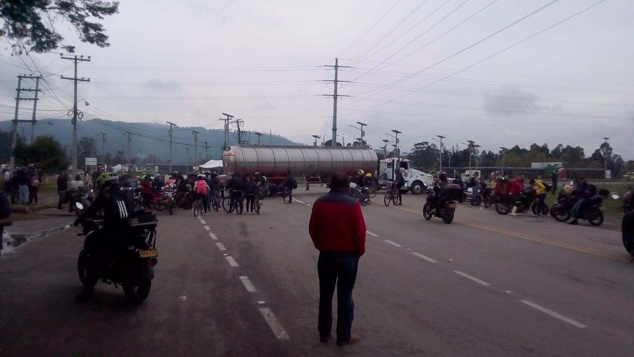 Reporte de manifestaciones en Cundinamarca