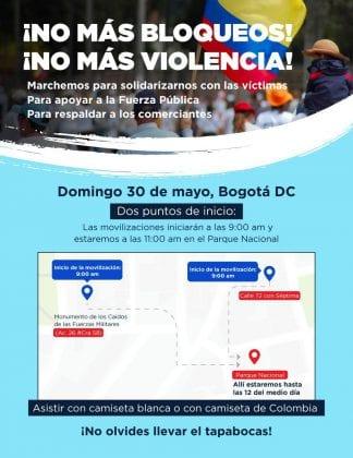 Yo protejo mi país: Colombia rechaza el vandalismo