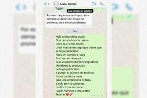 Epa Colombia ofrece ayudar a Manuela Gómezcon publicidad-Momento24