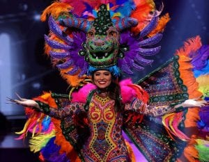 Trajes tipico en Miss Universo 2021-Momento24