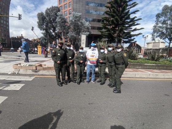 Así se vivieron las movilizaciones en contra de bloqueos y vandalismo