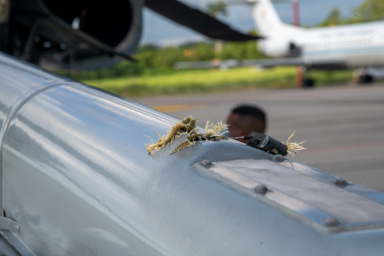 Atacaron helicóptero presidencial en Cúcuta