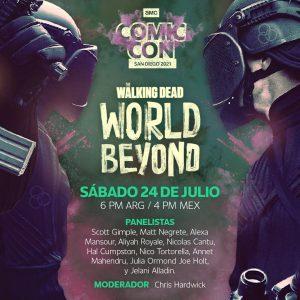 The Walking Dead y The Walking Dead: World Beyond en la Comic-Con