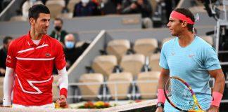 Novak Djokovic y Rafael Nadal