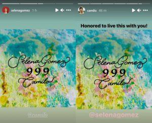 Selena Gómez colabora en nueva canción con Camilo