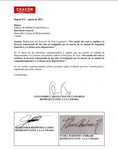 PROYECTO DE LEY, LICENCIA REMUNERADA
