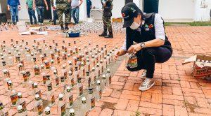 """Desarticulan banda """"Los chirrinches"""" dedicados a fabricar licores adulterados en Villavicencio"""
