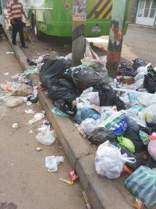 Uaesp se comprometió a recoger la basura este mismo jueves