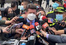 500 policías más llegan a Bogotá para reforzar seguridad