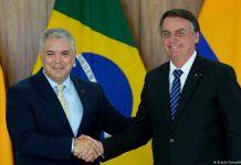 """Duque y Bolsonaro se comprometen a """"proteger"""" el Amazonas"""