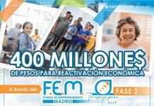 En Madrid avanza evaluación de planes de negocios por $400 millones