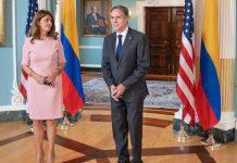 Antony Blinken y Marta Lucía Ramírez apuntalan encuentro en Colombia