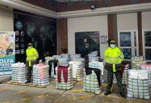 Golpe al contrabando en Bogotá: Incautan $236 millones en materiales de confección